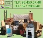 servicios de Vaciado de pisos, limpieza,pintura 93.450.37.48 barcelona - mejor precio   unprecio.es