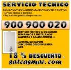 Sat calderas 900 901 074 reparacion calentadores y calderas barcelona - mejor precio | unprecio.es
