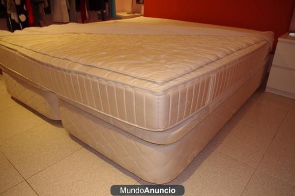 Vendo cama de 200 x 180 con canap y colch n for Colchon con canape