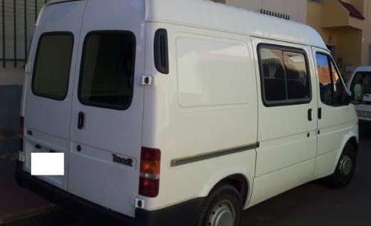 Vendo furgoneta modelo ford transit ft 80cv mejor precio for Vendo furgoneta camper