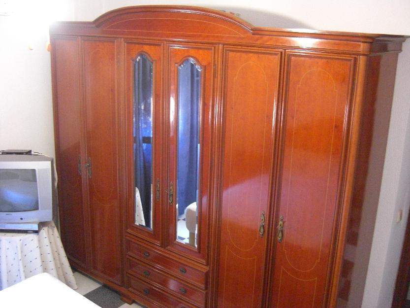 Dormitorio matrimonio completo de madera mejor precio for Precio dormitorio completo