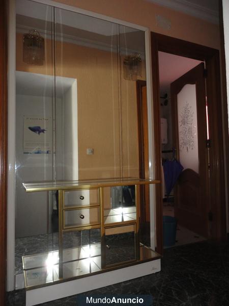 Mueble de entrada con espejos mejor precio for Espejos de entrada