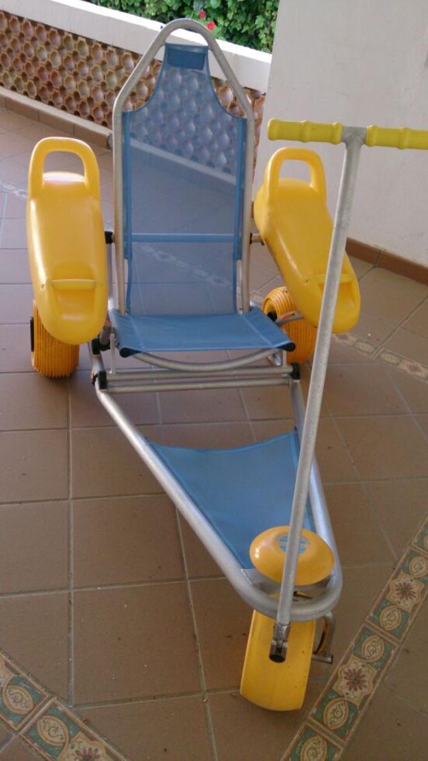 Silla para minusvalidos anfibia mejor precio for Sillas para escaleras minusvalidos