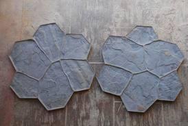 moldes de hormigón impreso