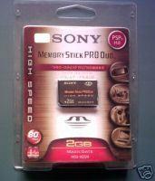 Memorias PSP 2gb Sony pro duo hs desde 46 euros