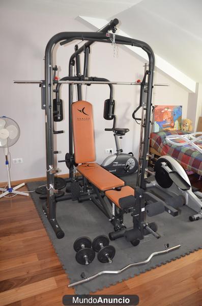 Maquina multiestacion musculacion y pesas domyos mejor for Maquinas de musculacion