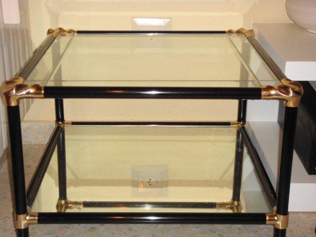 Mesas auxiliares de cristal mejor precio - Mesas auxiliares cristal ...