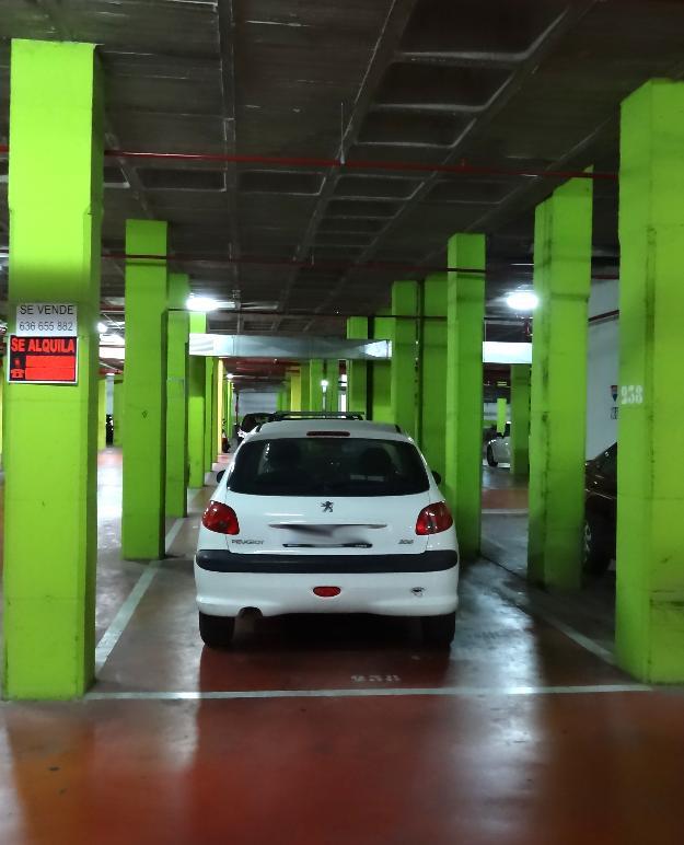 Alquiler amplia plaza de garaje en Elche