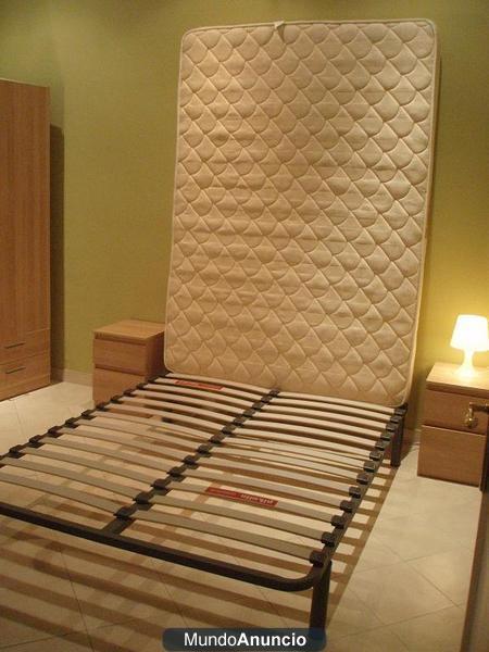 Vendo cama completa de 2 plazas pikolin a 180 euros 288016 for Cama completa precio