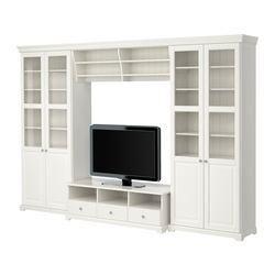 librerias y mueble tv ikea liatorp