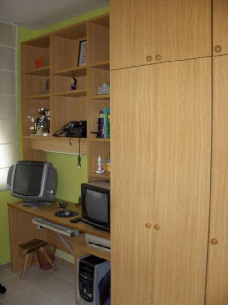 Habitacion indivual armario mesa estanteria se vende - Armarios por modulos ...