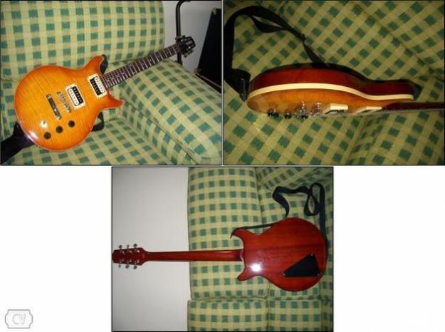 Guitarra Hamer Archtop Flametop