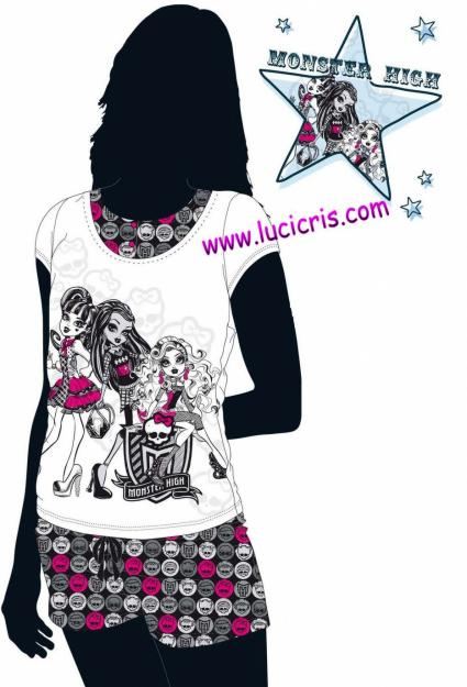 Camisetas monster high para nina - Fundas nordicas kiabi ...
