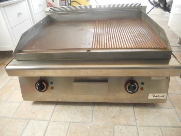 Dos planchas el ctricas de cocina con grill sin estrenar for Planchas de cocina electricas