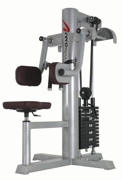 Maquina gimnasio musculacion fitness vuelos laterales for Gimnasio musculacion