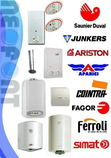Termos electricos y calentadores junkers fagor cointra for Instalacion termo electrico precio