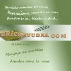 Reparaciones para la casa, Manitas , servicio 24 horas, BRICOAYUDAS.COM - mejor precio | unprecio.es