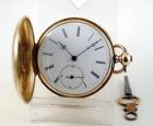 Reloj saboneta A.HUGUENIN c.1835 Caja de oro 14k - mejor precio   unprecio.es