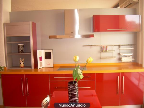 vendo muebles de cocina nuevos con encimera de silestone