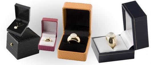 Estuches y Cajas para joyeria, bisuteria, relojeria y joyas