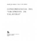 Concordancias del Arcipreste de Talavera. --- Gredos, Textos nº11, 1978, Madrid. - mejor precio   unprecio.es