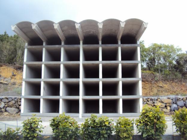 Construcción de nichos y osarios canarias