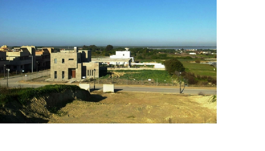 Parcelas urbanas directas 800 m2 campo de golf Sanlúcar