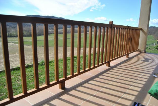 Barandillas de madera para exterior finest barandillas de - Barandillas madera exterior ...