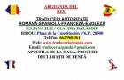 Traduceri autorizate romana-spaniola-romana - Arganda del Rey - mejor precio   unprecio.es