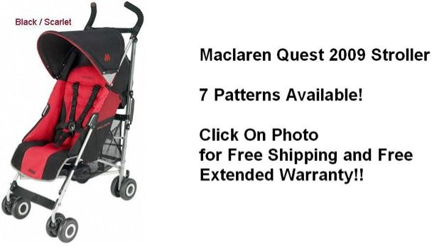 Vendo silla de paseo maclaren quest sport roja negra for Maclaren quest accesorios