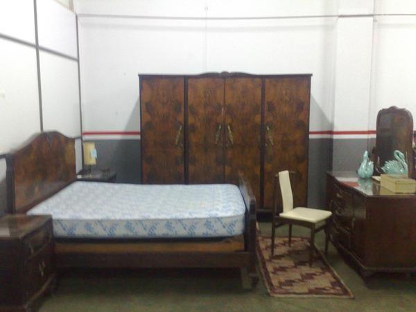 Habitacion completo de matrimonio antiquo mejor precio for Precio habitacion matrimonio