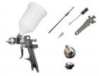 Pistola Pintar HVLP Profesional Cromada V2A Inoxidable - mejor precio   unprecio.es