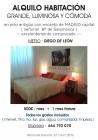 Alquilo habitacion amplia, luminosa - mejor precio | unprecio.es