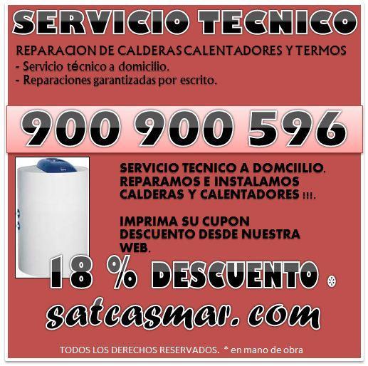 Cointra servicio tecnico 900 901 074 barcelona reparacion for Reparacion de calderas barcelona