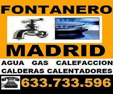 FONTANERO AUTONOMO EN MADRID - REPARACIONES ECONOMICAS