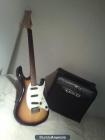 Guitarra Electrica y Amplificador 15w - mejor precio   unprecio.es