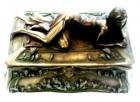 Caja joyero art nouveau - mejor precio   unprecio.es