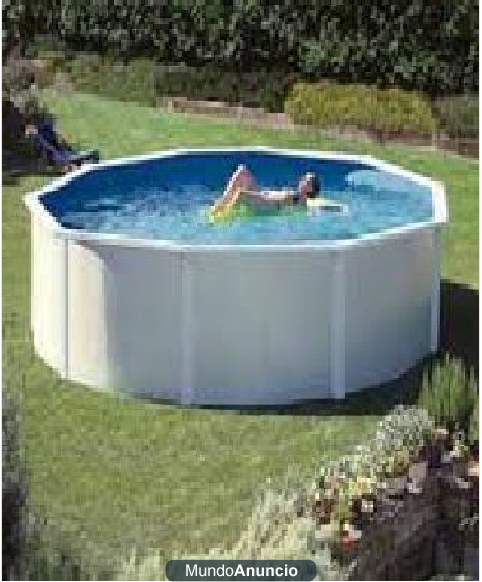 Piscina desmontable gre dream pool top 5 5 x dos for Piscina dos hermanas