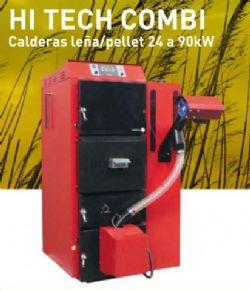 Caldera de biomasa mixta le a pellet de 24 a 90kw 276508 - Caldera mixta lena pellet ...