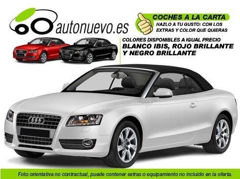 Audi A5 Cabrio 2.0Tdi 143v 6vel. Blanco ó Negro Nuevo. Nacional. A la Carta.