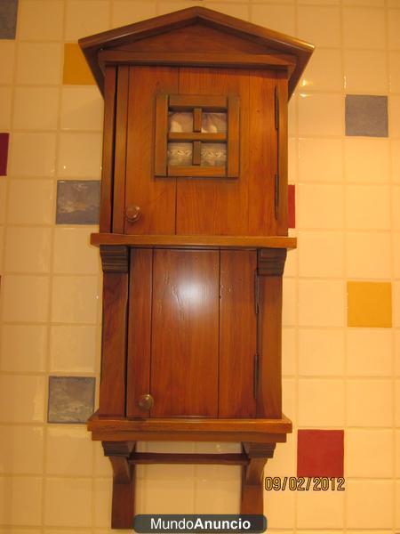 Armario r stico en forma de casita 315798 mejor precio - Armario rustico segunda mano ...