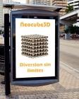 Neocube 3D, 216 imanes 5mm color niquel, buckyballs - mejor precio   unprecio.es