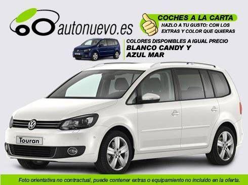 Volkswagen Touran Sport 2.0Tdi i 170cv Dsg 6vel. Blanco Candy ó Azul Indian. Nuevo. Nacional. A la Carta.
