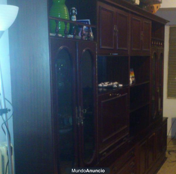 Mueble clasico salon madera maciza mejor precio for Muebles salon madera maciza