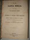LA SANTA BIBLIA, 1869. - mejor precio | unprecio.es