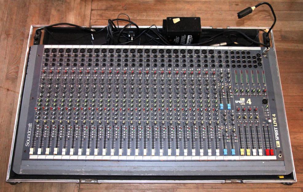 Mesa de mezclas soundcraft live 4 spirit 32 canales escucho ofertas y cambios mejor precio - Mesa de mezclas 2 canales ...