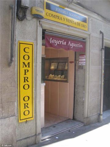 Quiere vender oro? Vender joyas? Barcelona. Venta de oro en Joyería Agustín 932196790