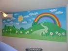Murales infantiles pintados a mano alzada en Paredes - mejor precio   unprecio.es