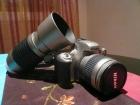 Cámara Reflex Nikon F55 + 2 objetivos y accesorios - mejor precio   unprecio.es