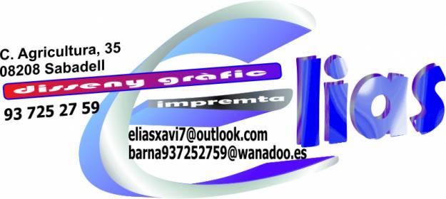 Impremta elias tel / fax: 937252759